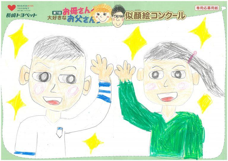 A.Mくん(9才)の作品