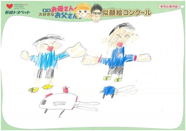 H.Kくん(6才)の作品
