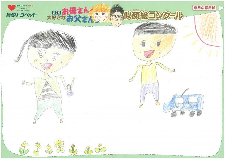 A.Kちゃん(8才)の作品