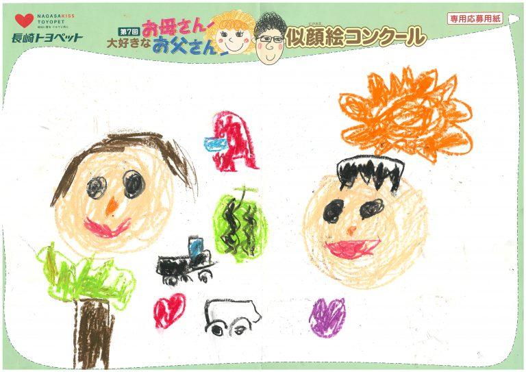 M.Aくん(6才)の作品