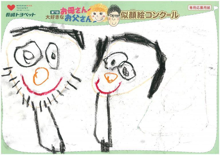 T.Aくん(4才)の作品