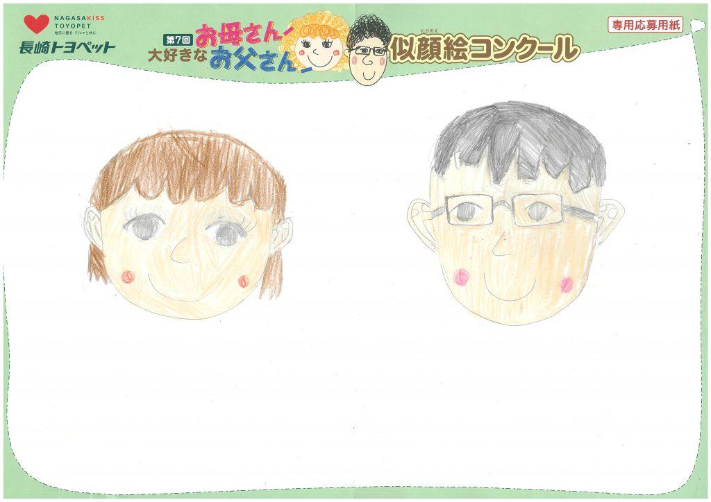 M.Iちゃん(10才)の作品