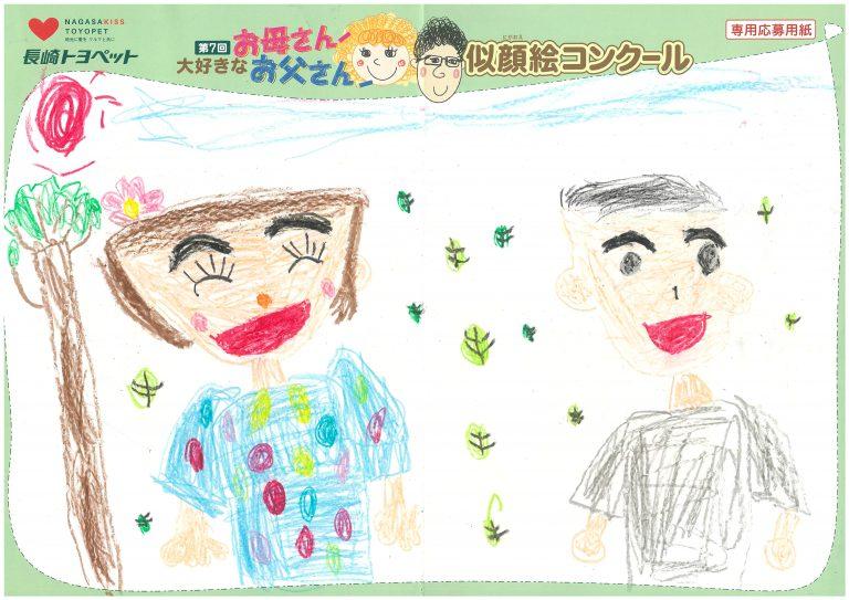 H.Yちゃん(5才)の作品