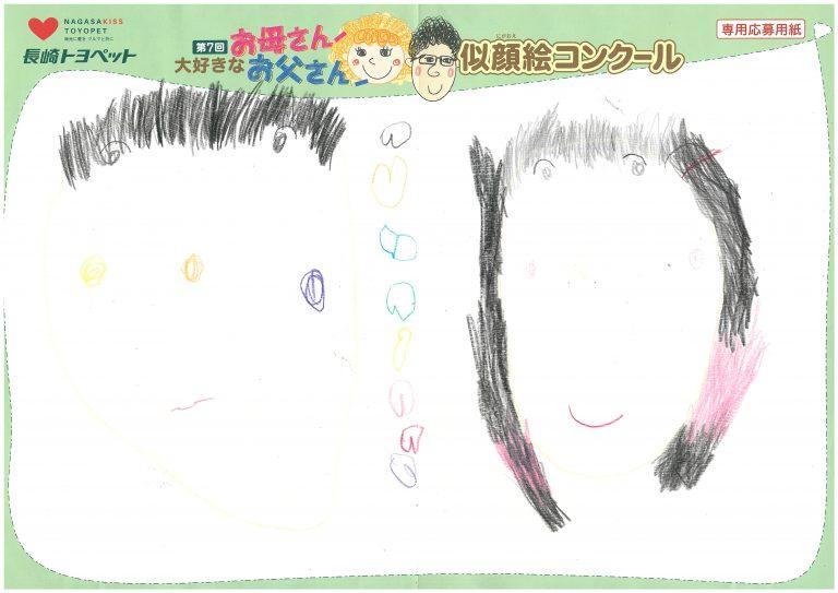 R.Mちゃん(4才)の作品