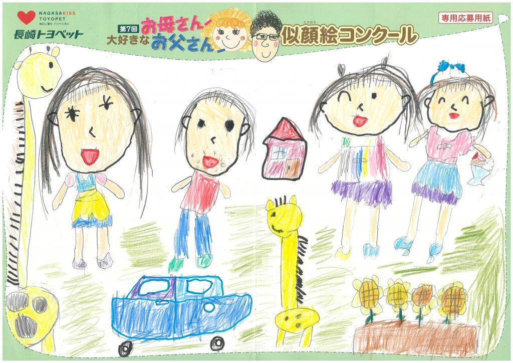 M.Oちゃん(6才)の作品