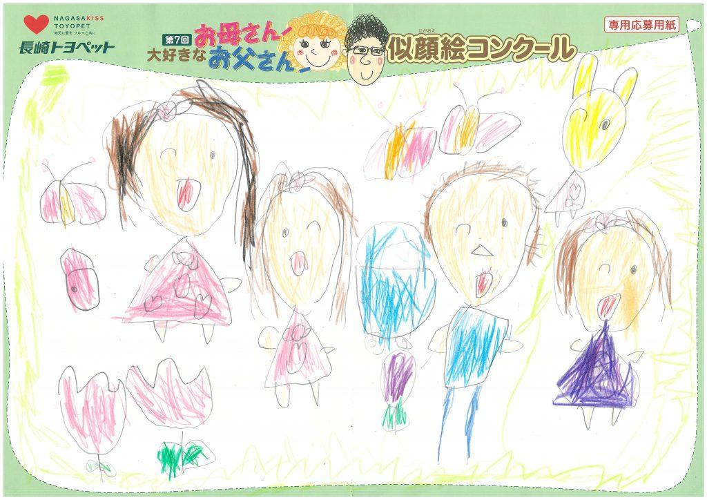 M.Oちゃん(4才)の作品