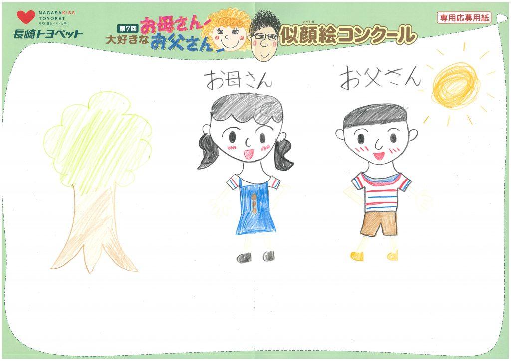 R.Uちゃん(7才)の作品