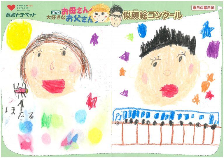 Z.Mくん(6才)の作品