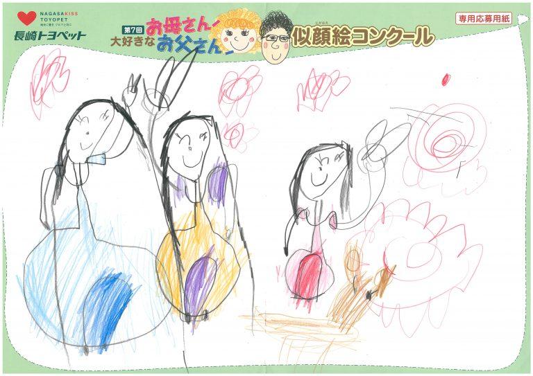 Y.Sちゃん(4才)の作品