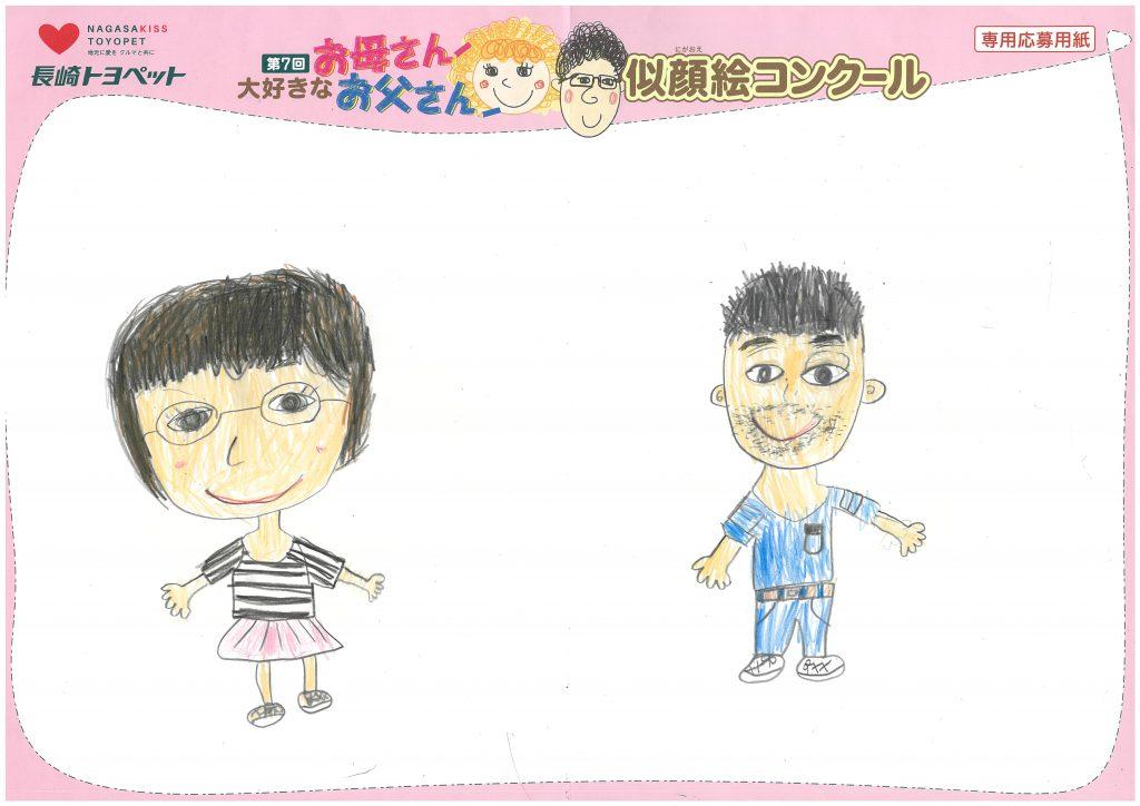 H.Iちゃん(7才)の作品