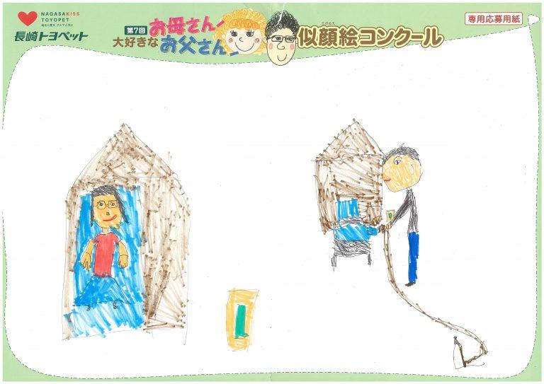 R.Kくん(5才)の作品