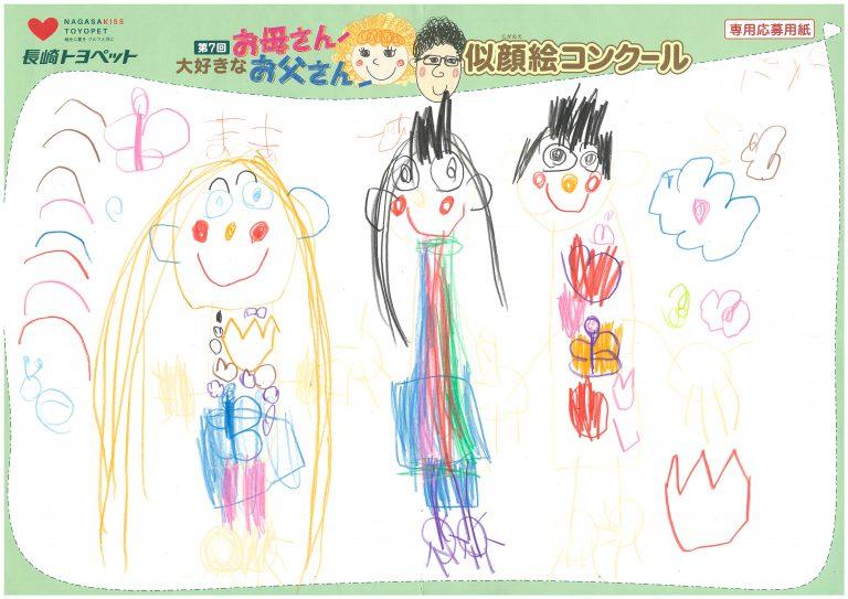 H.Aちゃん(4才)の作品