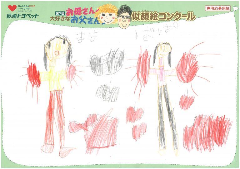 K.Aちゃん(6才)の作品