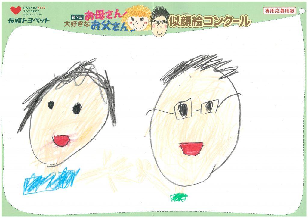 H.Hくん(8才)の作品