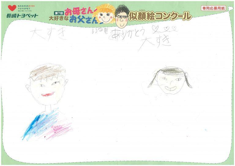 A.Kくん(6才)の作品