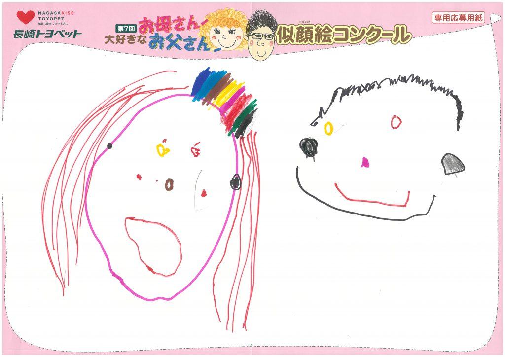 Y.Bちゃん(4才)の作品