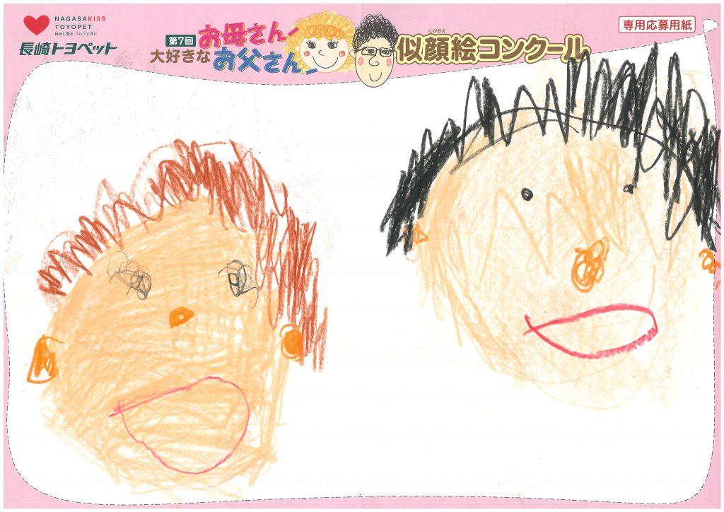 N.Nくん(4才)の作品