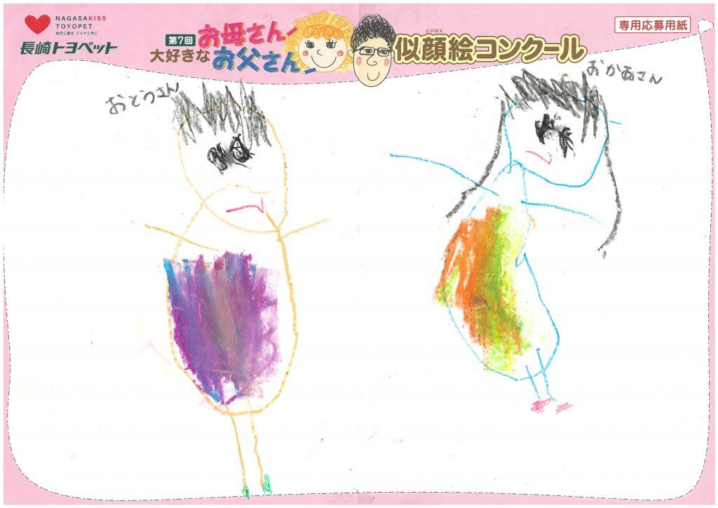 Y.Oくん(4才)の作品