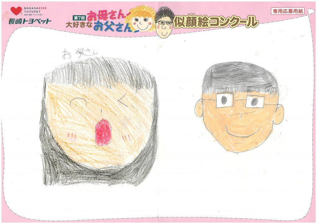 N.Oちゃん(8才)の作品