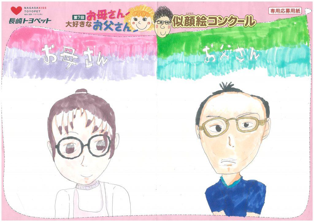 T.Oちゃん(9才)の作品