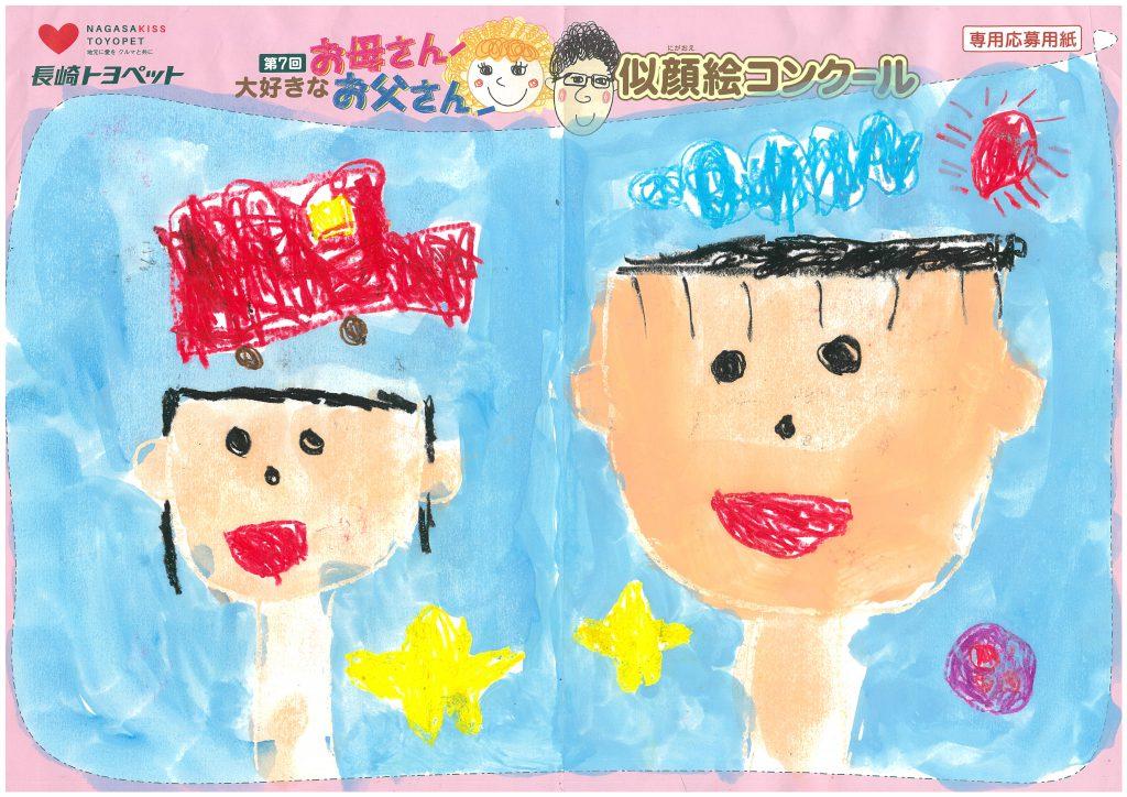 R.Yくん(5才)の作品