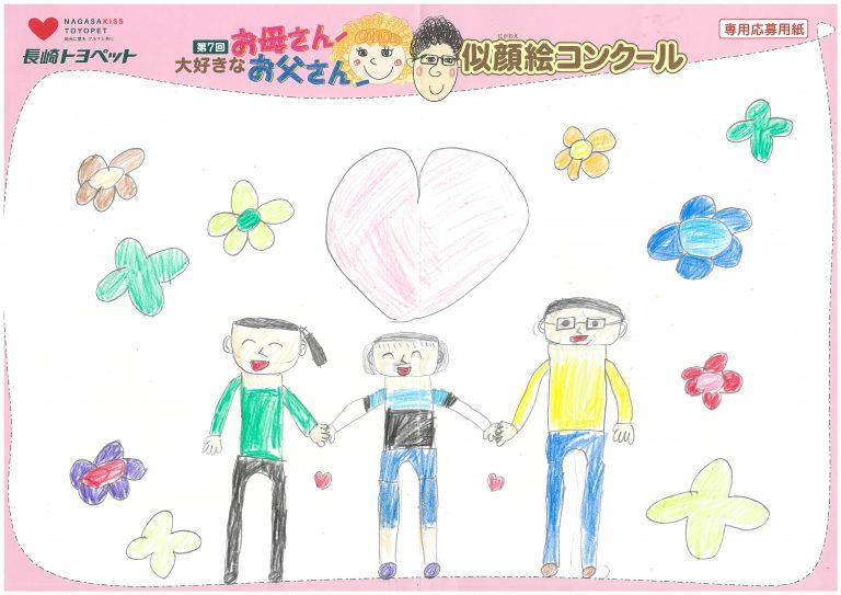 N.Nちゃん(9才)の作品
