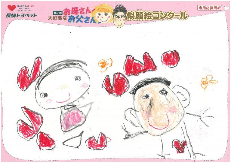 H.Nちゃん(4才)の作品