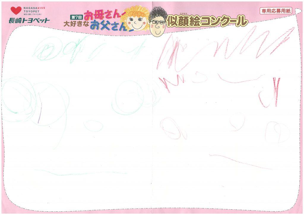 R.Kくん(4才)の作品