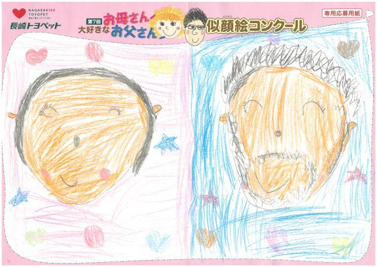 S.Tちゃん(5才)の作品