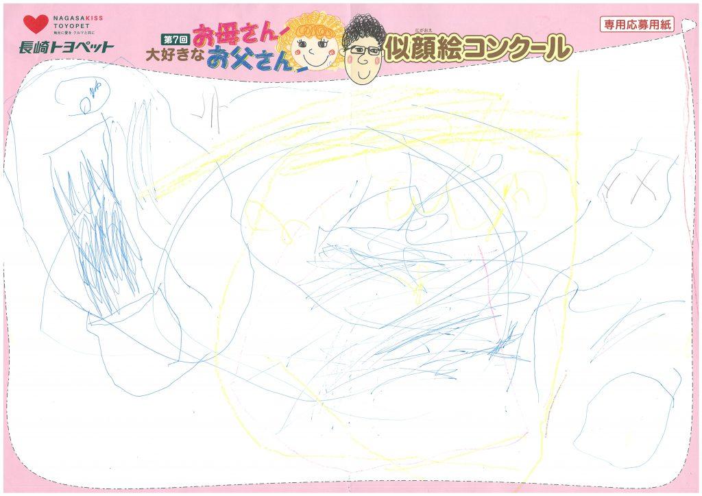 H.Tちゃん(3才)の作品