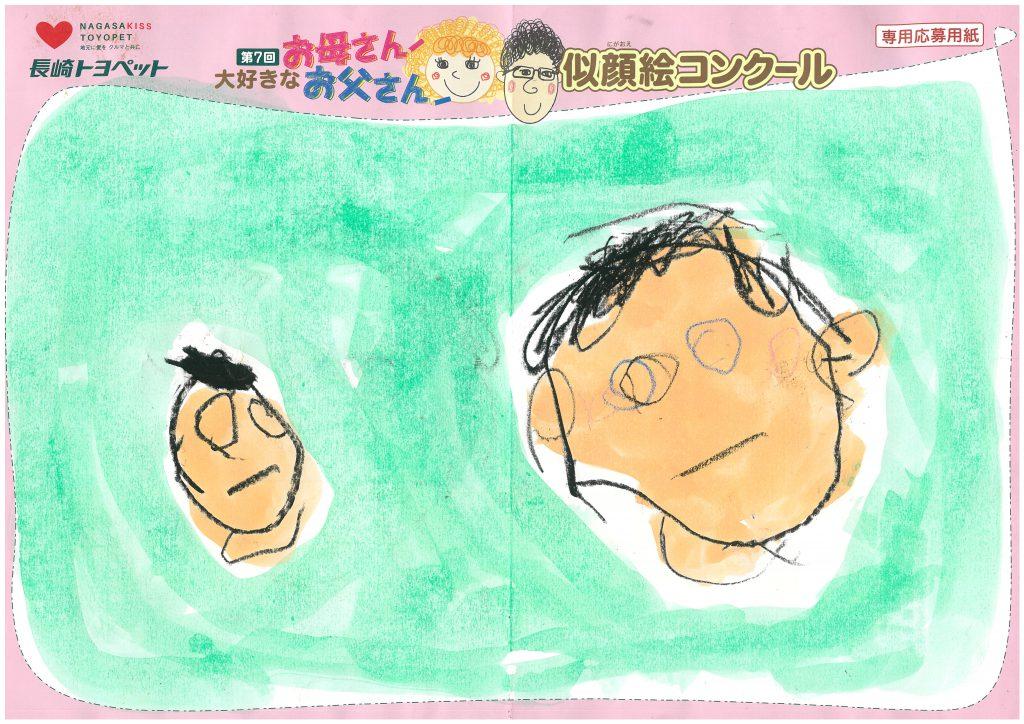 R.Sくん(3才)の作品
