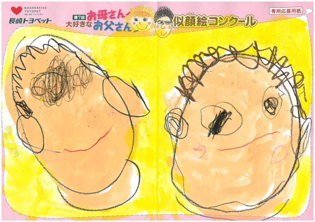 S.Tちゃん(4才)の作品