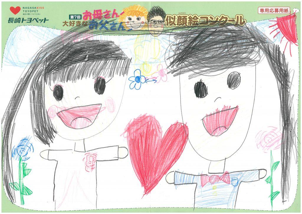 H.Sちゃん(7才)の作品