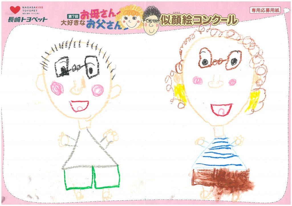 E.Nちゃん(6才)の作品