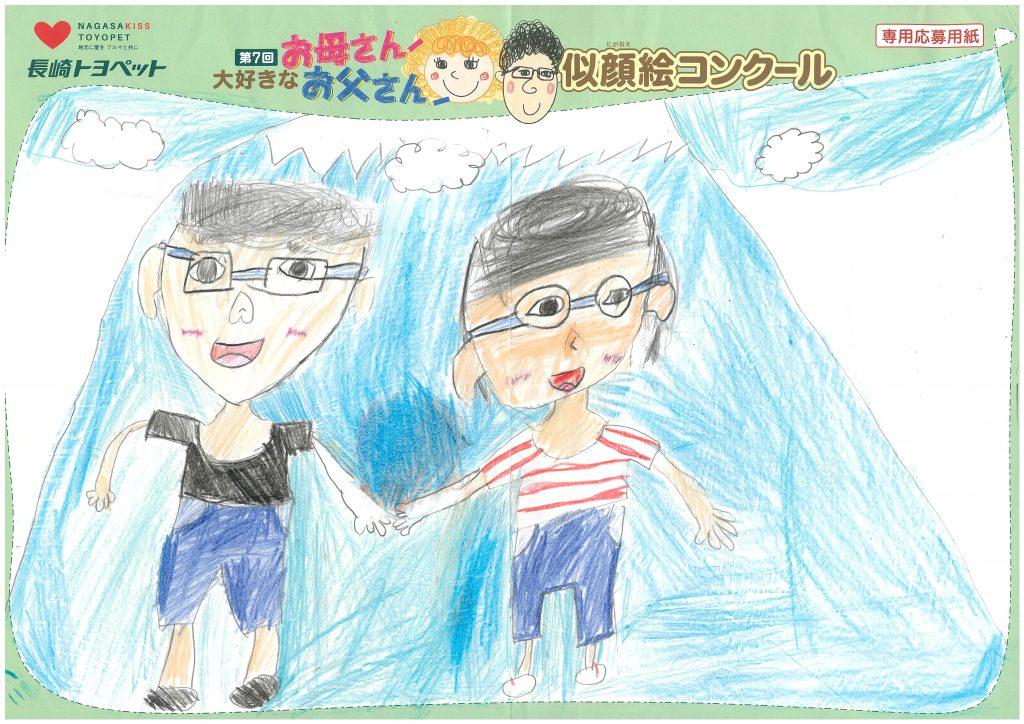 H.Tくん(8才)の作品