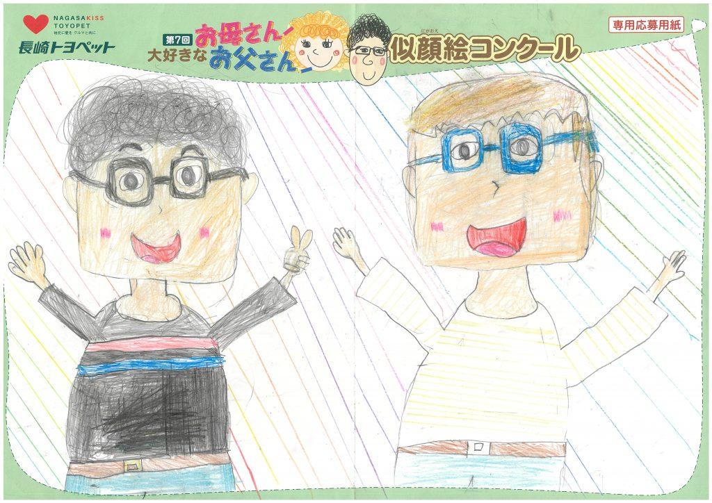 Y.Tちゃん(9才)の作品