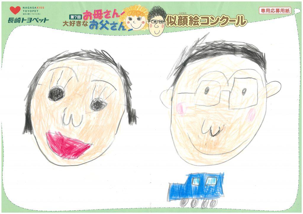 K.Sくん(6才)の作品