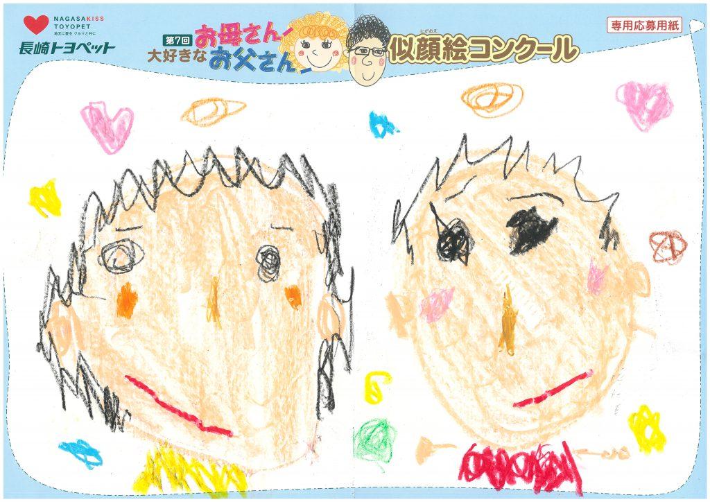 E.Mくん(3才)の作品