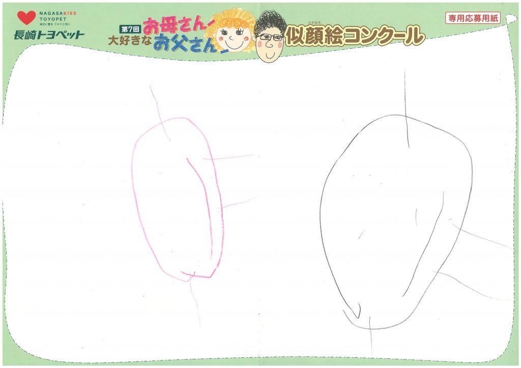 I.Sちゃん(4才)の作品