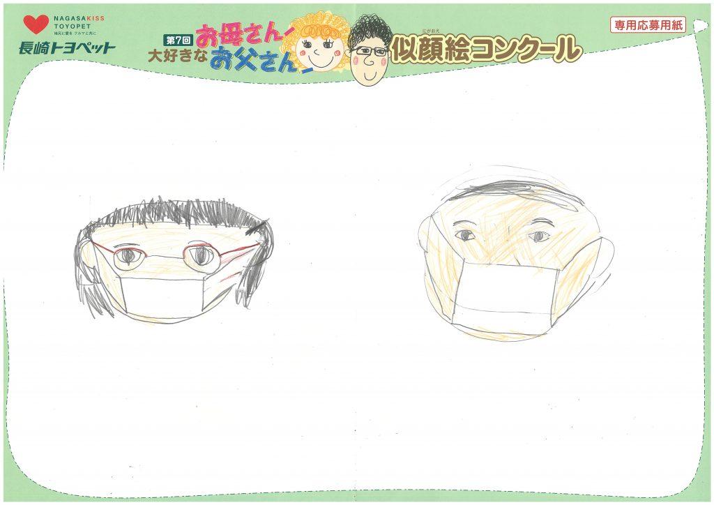 W.Hちゃん(7才)の作品