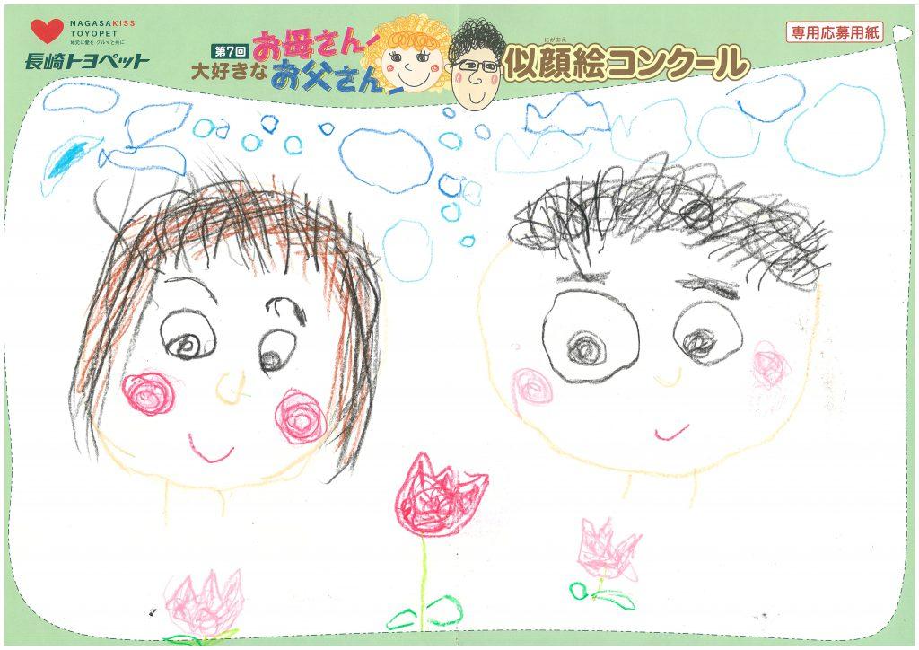M.Yちゃん(3才)の作品