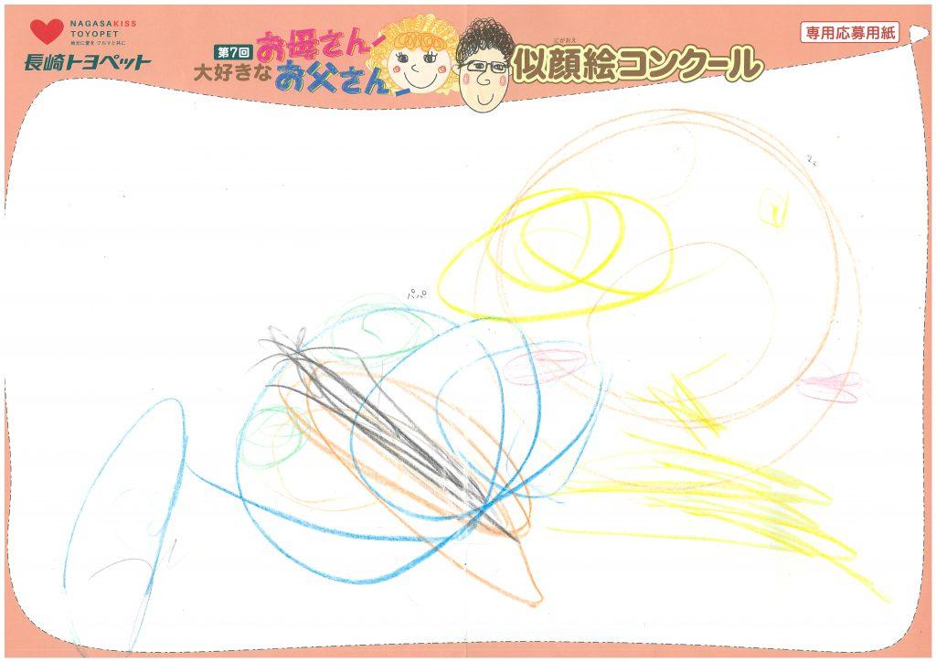 A.Sちゃん(2才)の作品