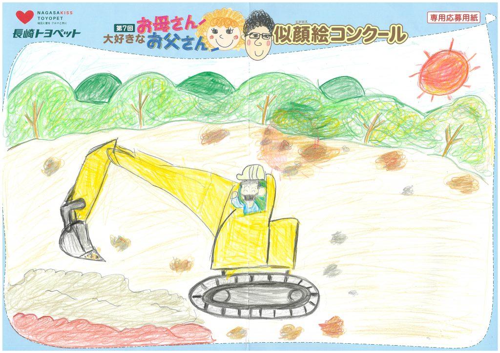T.Wちゃん(8才)の作品