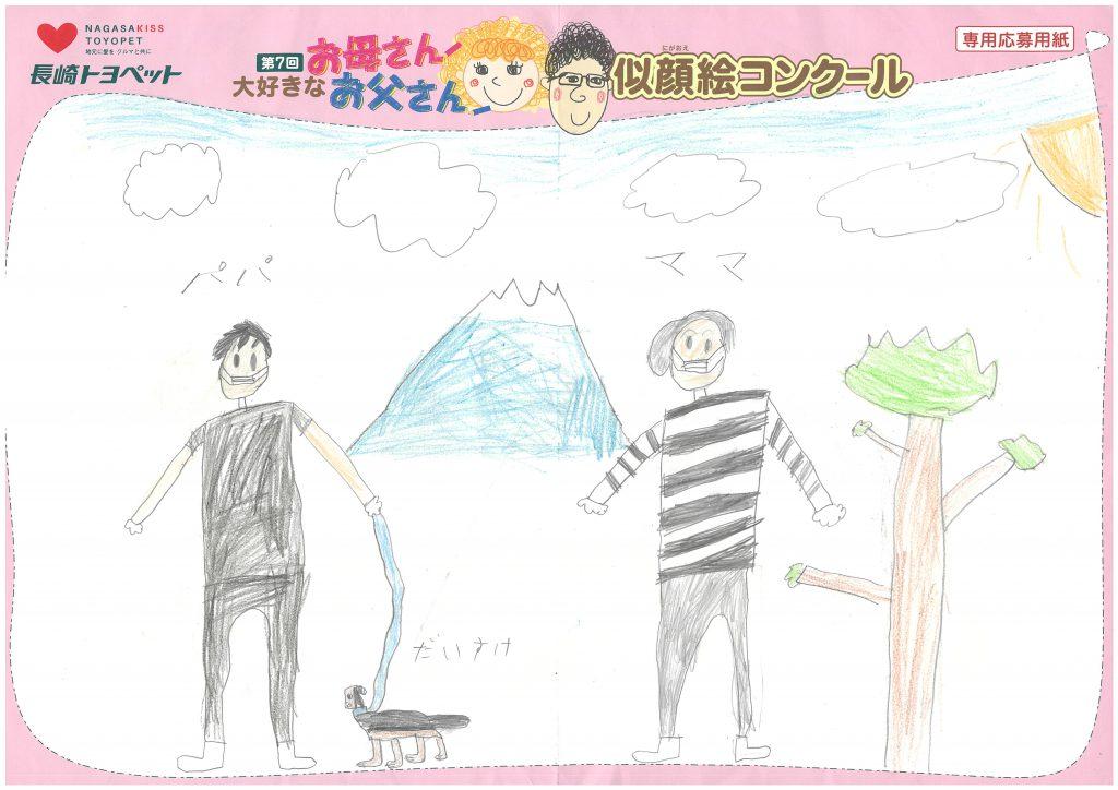 A.Kくん(7才)の作品
