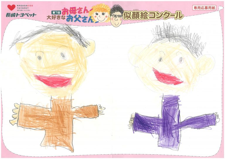 S.Hくん(5才)の作品