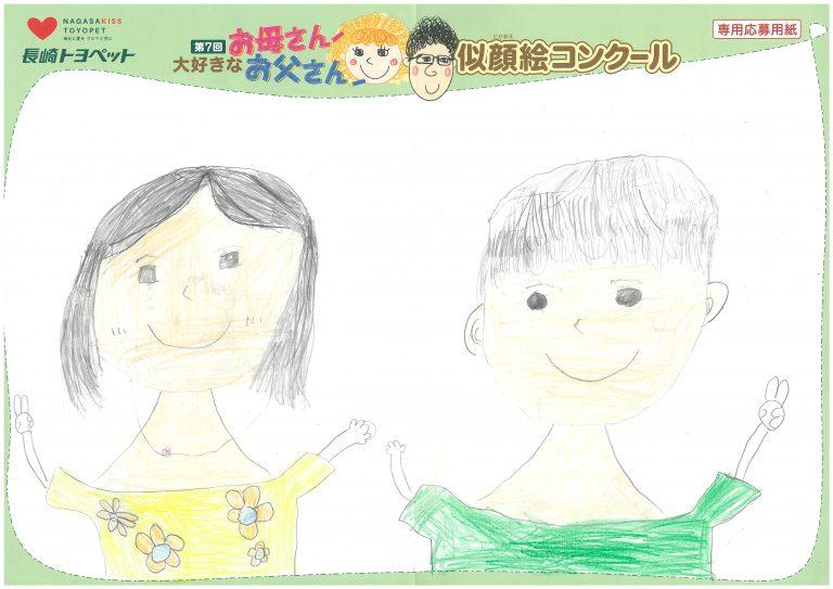 I.Hちゃん(7才)の作品