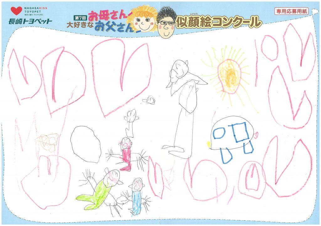 M.Kくん(4才)の作品