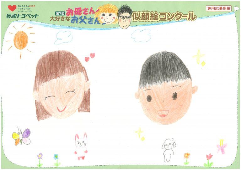 R.Mちゃん(7才)の作品