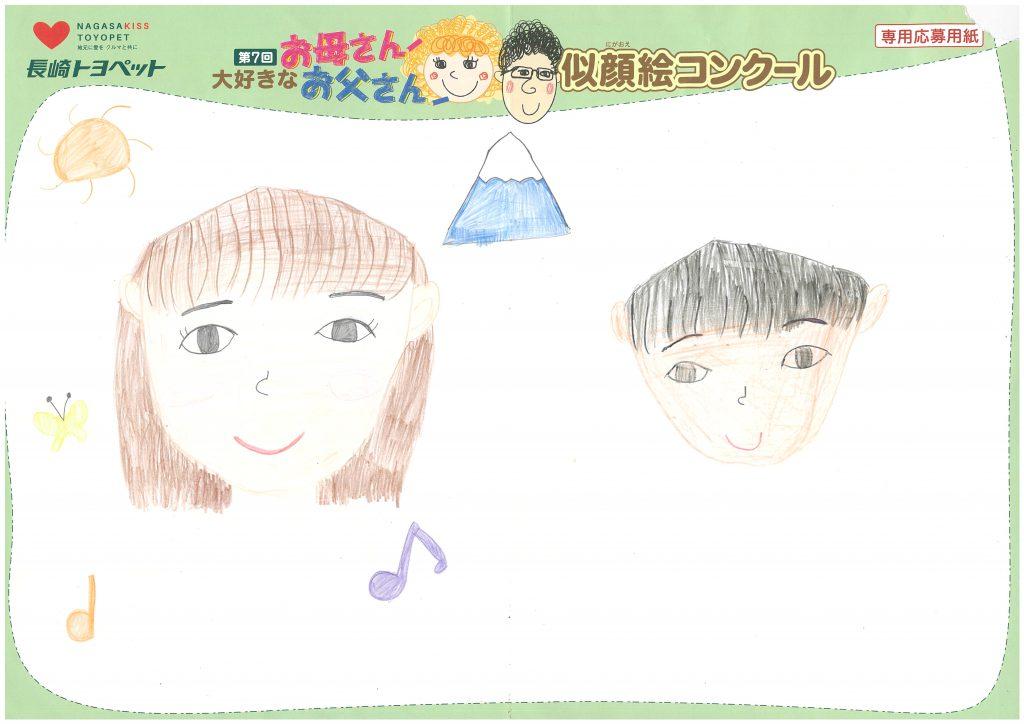 N.Mちゃん(8才)の作品