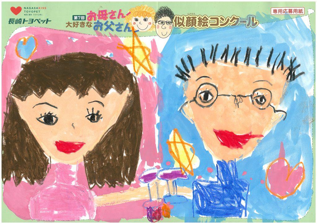 A.Wちゃん(6才)の作品